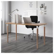 Ikea White Desk Table by Hilver Table Bamboo 140x65 Cm Ikea