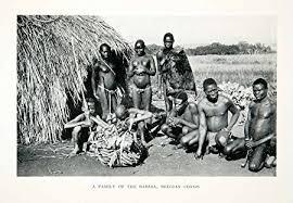 1930 print babira tribe family africa belgian congo historic