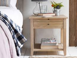 Oak Bedside Tables Sandie Weathered Oak Side Table Loaf