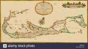 Bermuda World Map Map Of Bermuda 1678 Stock Photo Royalty Free Image 130803078 Alamy