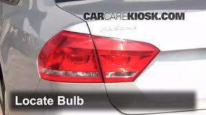 why do cops touch tail lights rear turn signal replacement volkswagen passat 2012 2017 2012