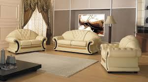 Leather Sofa Sets Cleopatra Traditional Leather Sofa Set