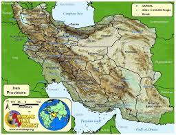 Caspian Sea World Map by Iran Worldmap Org