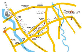 eros map location map eros soornam at noida extension earth