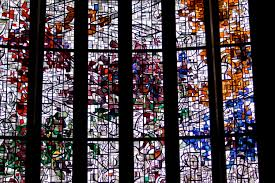 stained glass window the trinity and the stained glass windows of the abbey church