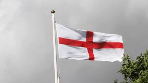 Flag Red With White Cross English Flag The Cross Of St George A Red Cross On White