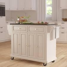 white kitchen islands carts you ll wayfair