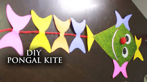 diy pongal kite decorator useful crafts with waste material