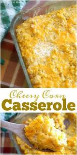 corn casserole for a thanksgiving side dish recipe