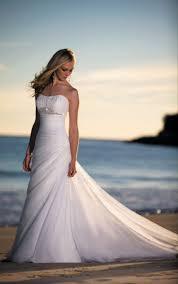 beach wedding gowns davids bridal wedding dress ideas