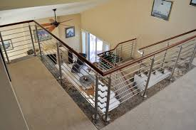Contemporary Banisters And Handrails Contemporary Handrail I Modern Round Handrail I Stainless U0026 Wood
