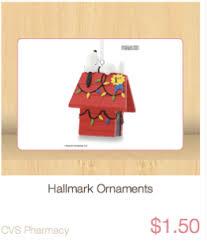hallmark ornaments just 2 75 at cvs reg 6 99