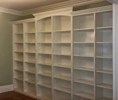 Bookcase Diy by Diy Finished Built In Bookcases Diy Built In Bookcases With Double