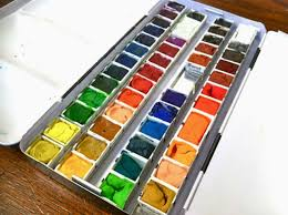 mish mash workspace wednesday creating your own watercolor palette
