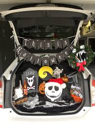 nightmare before christmas trunk or treat this is what i do in