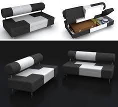 saving space storage filled sofa has secret compartments