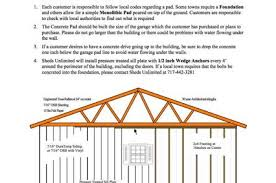 Build A Two Car Garage How To Build A Concrete Pad For Your Garage Sheds Unlimited