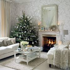 christmas homes decorated white christmas decorating ideas family holiday net guide to
