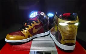 sneakers that light up on the bottom have you seen the iron man light up nike sneakers