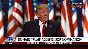 trump accepts nomination americanism not globalism will be our