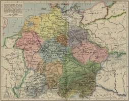 Holy Roman Empire Map Historical Atlas By William R Shepherd Perry Castañeda Map