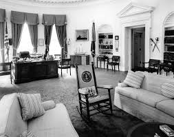 Oval Office Desk White House Oval Office President Kennedy U0027s Rocking Chair And