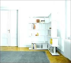 Corner Bookcase Units White Corner Bookshelf White Corner Bookcase With Adjustable