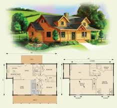log house floor plans cabin floor loft with house plans dogwood ii log home and log