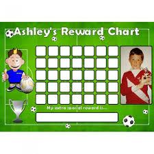 blank football reward chart template sample for boy helloalive