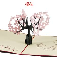 thanksgiving holiday card 3d paper sculpture creative holiday cards cherry greeting card