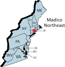 Map Of North Eastern United States by Madico Window Films Opens Northeast Service Center Madico Window