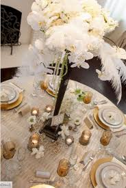 great gatsby centerpieces great gatsby wedding centerpieces oosile