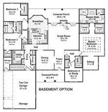 ranch home plans with basements rambler floor plans with basement home desain 2018