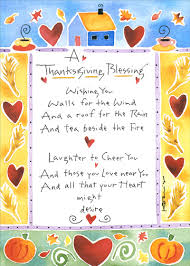 blessing thanksgiving card by recycled paper greetings