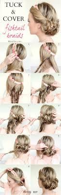 Hochsteckfrisurenen Glattes Haar by Die Besten 25 Halbe Hochsteckfrisuren Ideen Auf