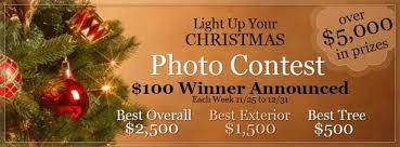 christmas lights photo contest weekly winners christmas