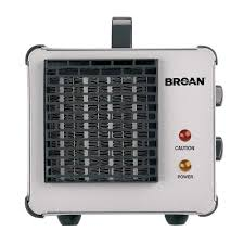Small Electric Heaters For Bathrooms Broan Big Heat 1500 Watt Ceramic Electric Portable Heater With