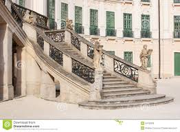 Stone Banister Esterhazy Castle Stairs To The Palace Stock Photo Image 54125850