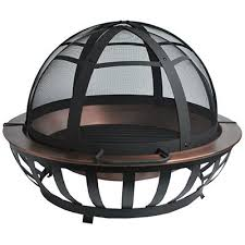 40 fire pit four seasons courtyard saratoga fire pit solid copper bowl