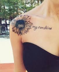 sunflower tattoo designs for modish girls womenitems com