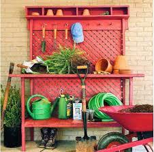 45 diy potting bench plans that will make planting easier free