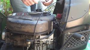 how to replace a fuel pump on john deere l100 youtube