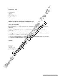 letter of default on promissory note u2013 lawyer com au