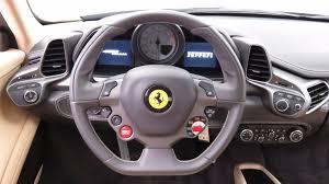 458 italia steering wheel 2013 used 458 italia 2dr coupe at scottsdale