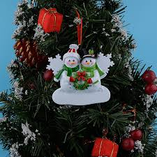 aliexpress com buy wholesale snowman family of 2 resin christmas