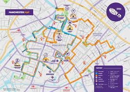 Manchester England Map by Walk It Manchester Crohn U0027s U0026 Colitis Uk
