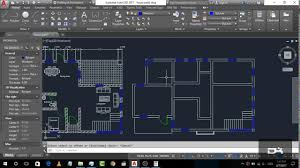 house plan com basic house plan drawing in autocad 2017 part 3 2d basics step