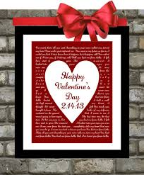 s day gift for husband valentines day gifts for him or for song by printsinspired