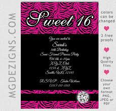 sweet sixteen invitation wording template resume builder