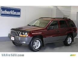 dark gray jeep cherokee 2002 jeep grand cherokee laredo 4x4 in dark garnet red pearlcoat